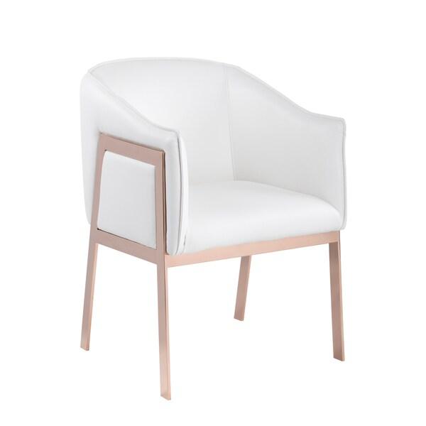 Sunpan Rialto Bonded Leather Armchair
