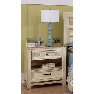 Haven Aged Ivory Nightstand