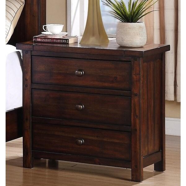 Davenport 3-drawer Nightstand