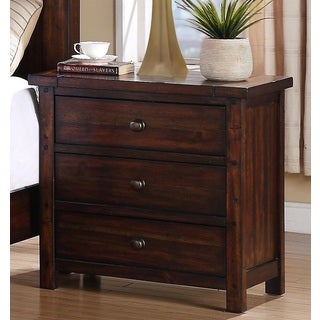 Davenport 3-drawer Nightstand