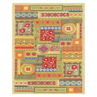 Grand Bazaar Tufted Wool & Viscose Artivia Rug in Multi 3' x 5'