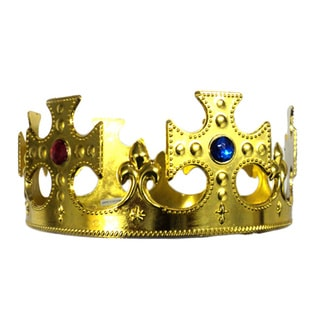 Gold King Jewels Crown
