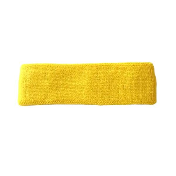 Gold Terry Cotton Headband