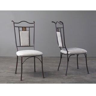 Tirana Metal Transitional Dining Chair Set of 4