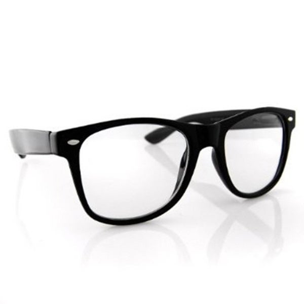 Black Frame Nerdy Glasses