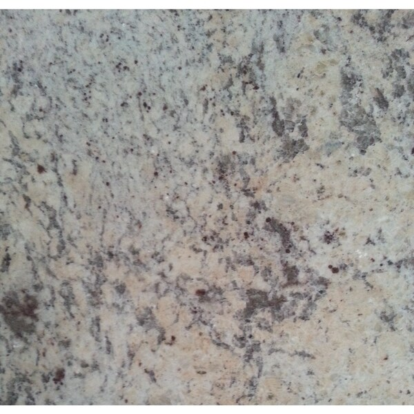 Granite 12-inch Ivory Brown Natural Floor and Bathroom Tile (Pack of 100)