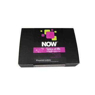 NOW Spice of Life Pleasure Pack Condoms (50 count)