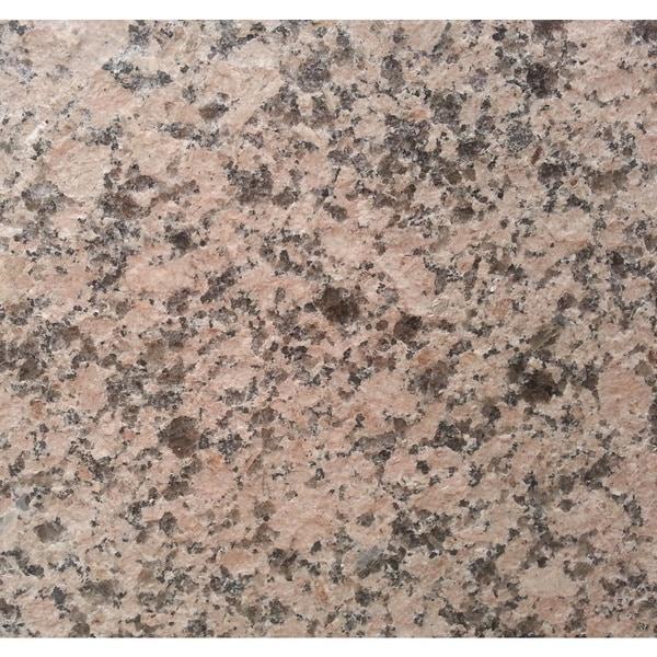 Granite 12-inch Misty Mauve Flamed Natural Floor and Bathroom Tile (Pack of 100)