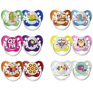 Ulubulu Lots of Love Collection Pacifier (Pack of 2)