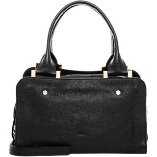 Chloe Black Medium Dalston Leather Handbag