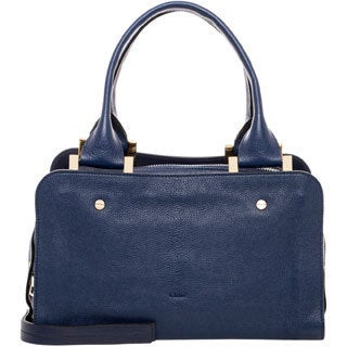 Chloe Blue Medium Dalston Leather Handbag