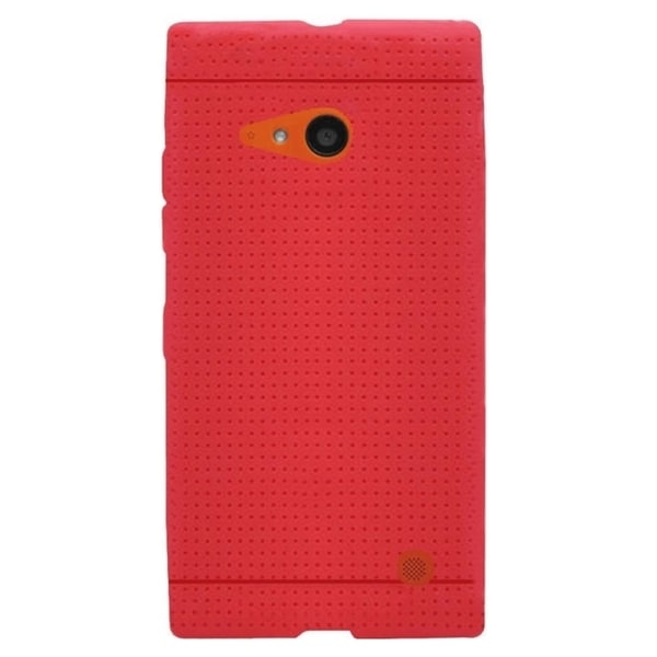 Insten Plain Rugged Silicone Skin Gel Rubber Phone Case Cover For Nokia Lumia 735