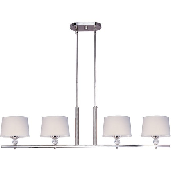 Maxim Lighting Rondo 4-light Chrome Island Pendant