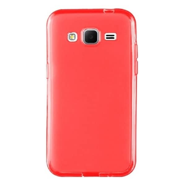 Insten Plain TPU Rubber Candy Skin Phone Case Cover For Samsung Galaxy Core Prime