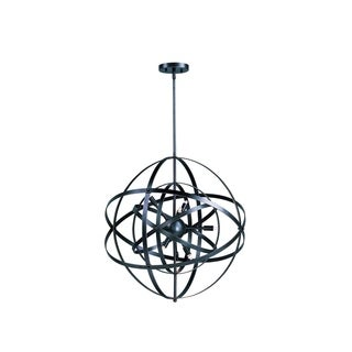Metal 6-light Bronze Sputnik Single Pendant