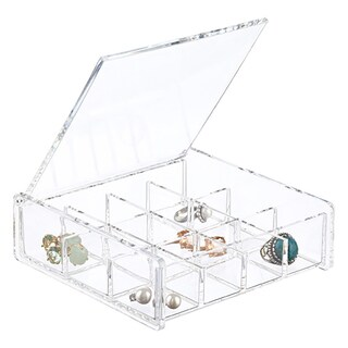 Square Acrylic Cosmetic/ Jewelry Organizer
