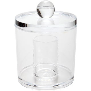 Clear Acrylic Cotton Swab/ Ball Container