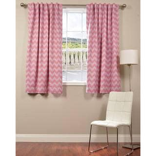 EFF Pink Chevron Blackout 63-inch Curtain