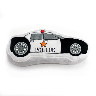Teyo's Tires Decorative Police Car Throw Pillow