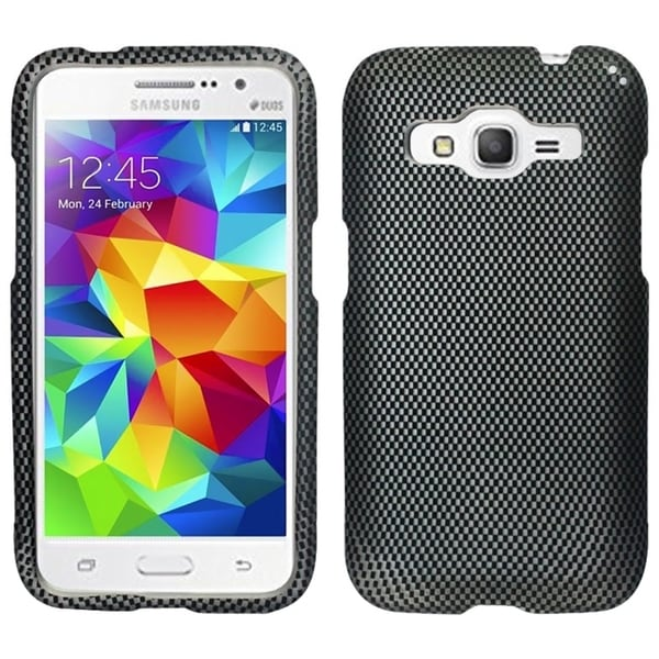 Insten Hard Snap-on Rubberized Matte Phone Case for Samsung Galaxy Core Prime Boost Carrier