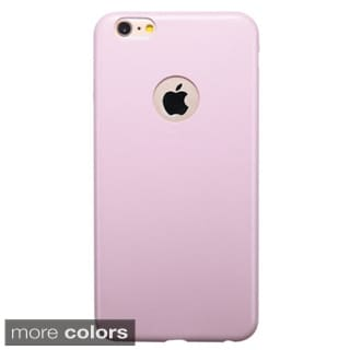 Insten Leather Ultra Slim Thin Snap-on Phone Case Cover For Apple iPhone 6 Plus
