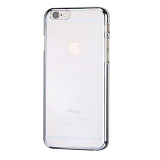 Insten White/ Silver Hard Plastic Slim Snap-on Rubberized Matte Phone Case Cover For Apple iPhone 6