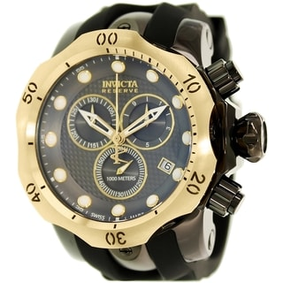 Invicta Men's Venom 16154 Black Rubber Swiss Chronograph Watch
