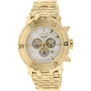 Invicta Men's Subaqua 14508 Goldtone Stainless Steel Swiss Chronograph Watch
