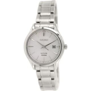 Seiko Women's SXDG17 Silvertone Quartz Watch