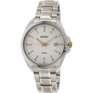 Seiko Men's SUR063 Stainless Steel Quartz Watch