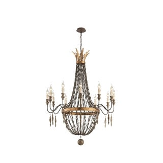 Troy Lighting Delacroix 12-light Large Chandelier