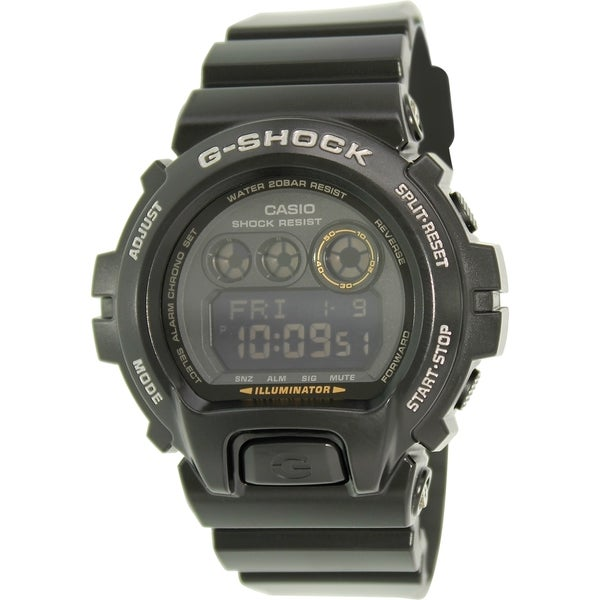 Casio Men's G-Shock GDX6900-1 Black Resin Quartz Watch