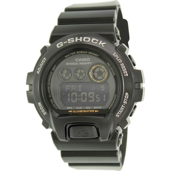 Casio Men's G-Shock GDX6900-1 Black Resin Quartz Watch