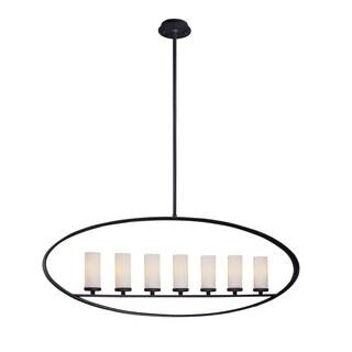 Troy Lighting Eclipse 7-light Oval Pendant