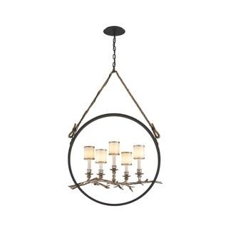 Troy Lighting Drift 5-light Medium Linear Pendant
