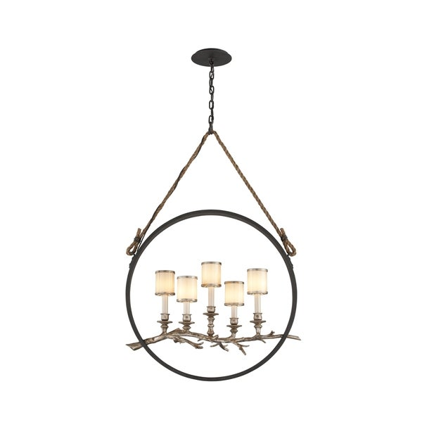 Troy Lighting Drift 5-light Medium Linear Pendant