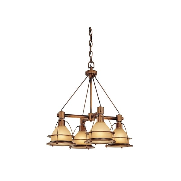 Troy Lighting Bristol Bay 4-light Chandelier