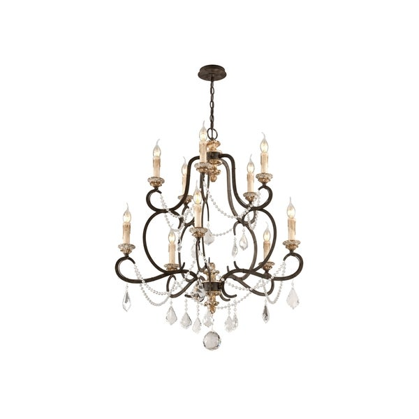 Troy Lighting Bordeaux 10-light Chandelier