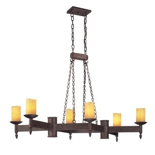 Troy Lighting Academy 6-light Pendant Island