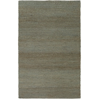 Hand-Woven Milagros Solid Pattern Jute Rug (8' x 11')
