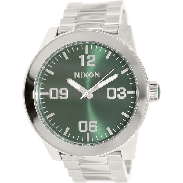 Nixon Men's Corporal Ss A3461696 Stainless Steel Quartz Watch