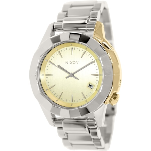 Nixon Women's Monarch A2881431 Stainless Steel Quartz Watch