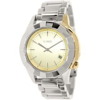 Nixon Women's Monarch A2881431 Stainless Steel Quartz Watch