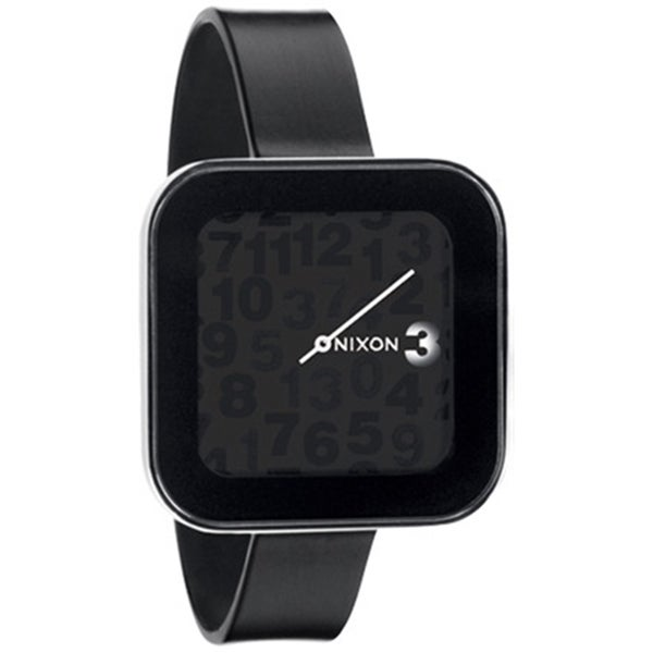 Nixon Women's Rocio A162000 Black Silicone Quartz Watch
