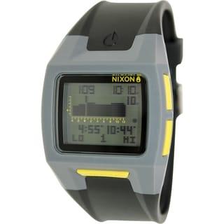 Nixon Men's Lodown A2891687 Black Resin Quartz Watch