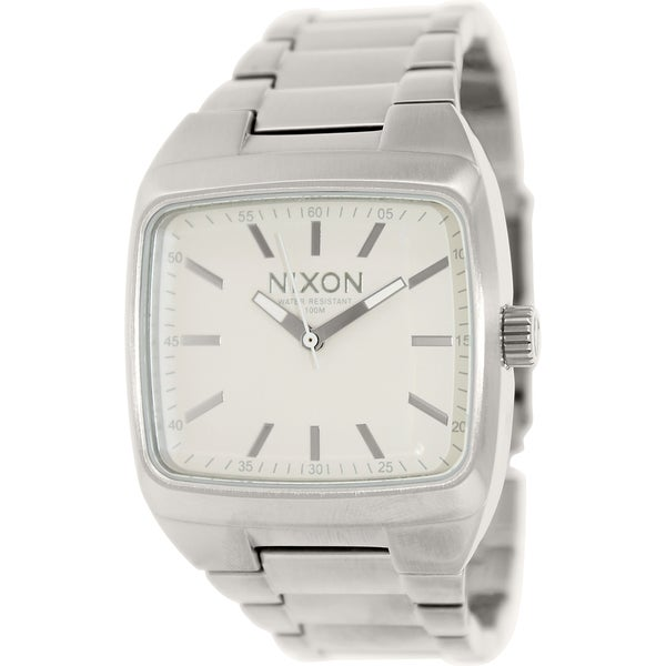 Nixon Men's Manual A244100 Stainless Steel Quartz Watch
