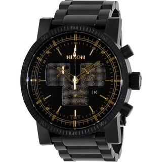Nixon Men's Magnacon A1541041 Black Stainless Steel Swiss Quartz Watch