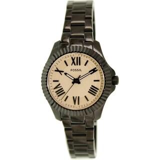 Fossil Women's Cecile AM4614 Black Stainless Steel Quartz Watch