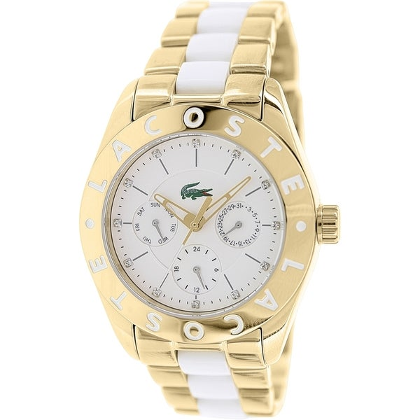Lacoste Women's Biarritz 2000635 Two-tone Stainless Steel Analog Quartz Watch