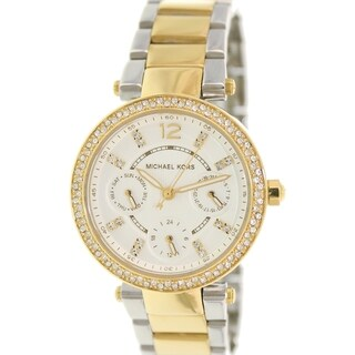 Michael Kors Women's Parker MK6055 Goldtone Stainless Steel Quartz Watch